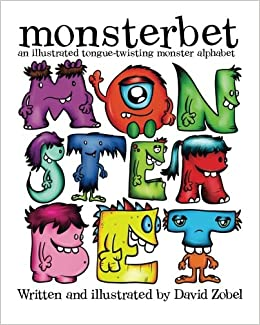 monsterbet an illustrated tongue twisting monster alphabet david