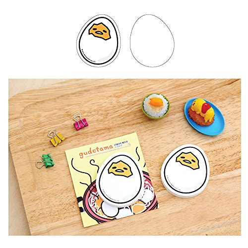 Sanrio Gudetama Lazy Egg Sticky Note Memo Pad Post It (50 Sheets) : #3