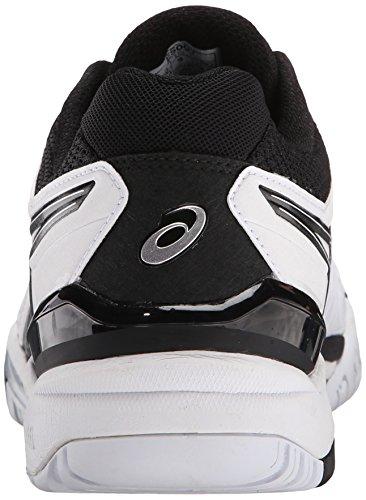 ASICS Men's GEL-Resolution 6 Tennis Shoe White/Black/Silver sale best place HHC3S