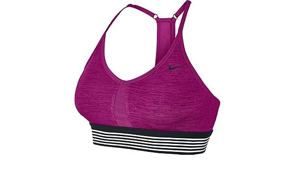 Nike Indy Cooling - Sujetador Deportivo, Color Blanco, 65: Amazon ...