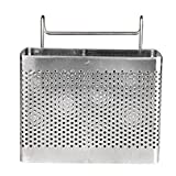 Sundarling Sink Basket, Kitchen Utensils Chopsticks knife and fork Holder Drying Rack Basket (Style 2)