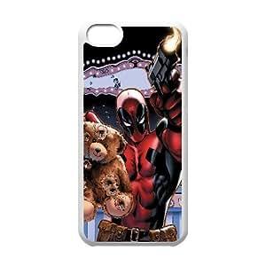iPhone 5C Phone Case White Deadpool Comic VMN8118717
