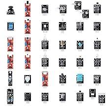 Sainsmart 37 in 1 Sensor Module Kit for Raspberry Pi & Arduino MCU Case Box (101-50-201)