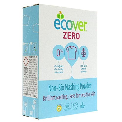 Ecover Zero - ZERO (Non Bio) Washing Powder | 750g by Ecover Zero