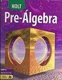 Holt Pre-Algebra 2, Clinton Bennett, 0030709741