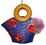 Blue Sequin & Glitter Fun Beach Bag Purse Christmas Ornament