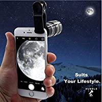 HUBBLE Telescope Lens Compatible with iPhone | 12X Zoom in