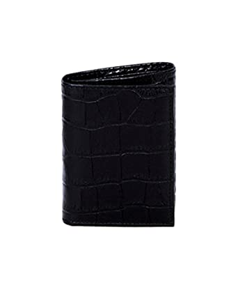 969f5de2e8 Scully Leather Men's Tri-Fold Wallet w/ID Croco 2000W Billfolds