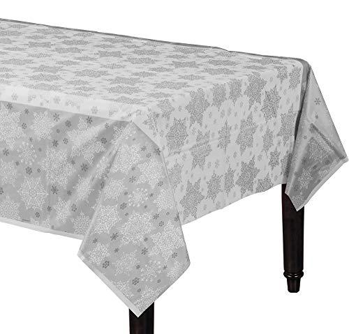 Amscan Shining Season Plastic Table Covers, 3 Ct.