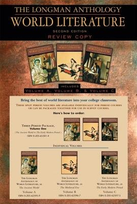 Read Online Exam Copy for The Longman Anthology of World Literature, Vol. 1(A, B, C): The Ancient World, The Medieval Era, and The Early Modern Period, 2nd Edition pdf