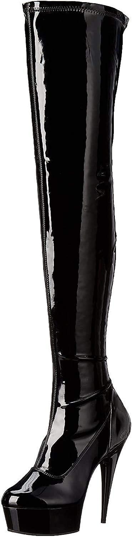 Pleaser Womens Delight-3000 Boot