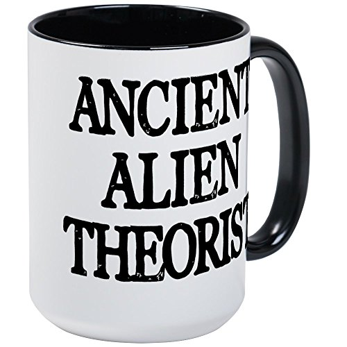 CafePress Ancient Alien Theorist Coffee Mug, Large 15 oz. White Coffee Cup