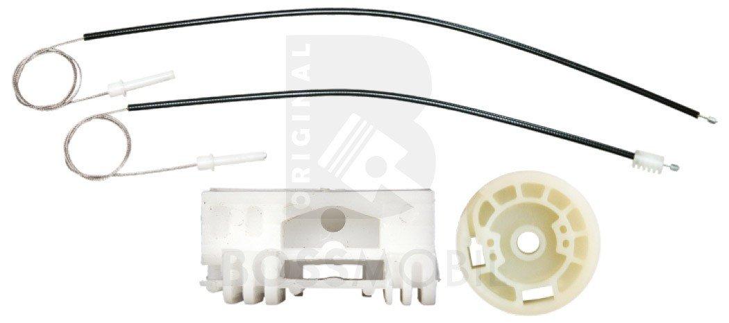 Bossmobil 106 I 1 (1A, 1C), 106 II 2 (1), Delantero derecho, kit de reparación de elevalunas eléctricos