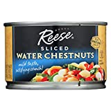 Reese Water Chestnuts - Sliced - Case of 12 - 8 oz.
