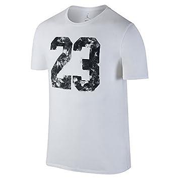 dd6c0c8a6aa48 Nike Mens Jordan 23 Dreams TEE, White/Black, L, Sneakers - Amazon Canada