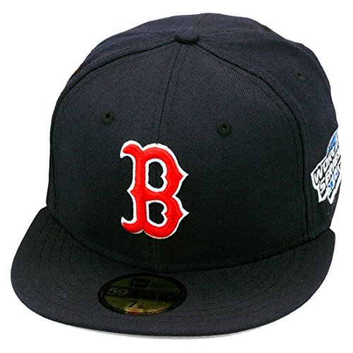 New Era Boston Red Sox World Series 2004 Fitted Hat (7 3/8)