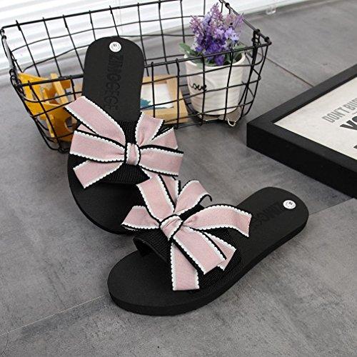 di Estate Casa Rosa da Sandali Le Piatti Estate Promozione Donna Grande Infradito Infradito Antiscivolo Le Casual Piatta Sandali Chenang A Sandali Paglia Scarpe Donna da TPFqpwB