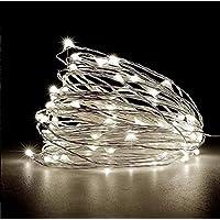 Cordão De Led 10m Fio De Fada - Fairy Light (Branco Frio)
