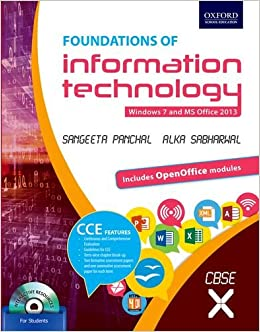 buy foundations of information technology class 10 windows 7 and ms