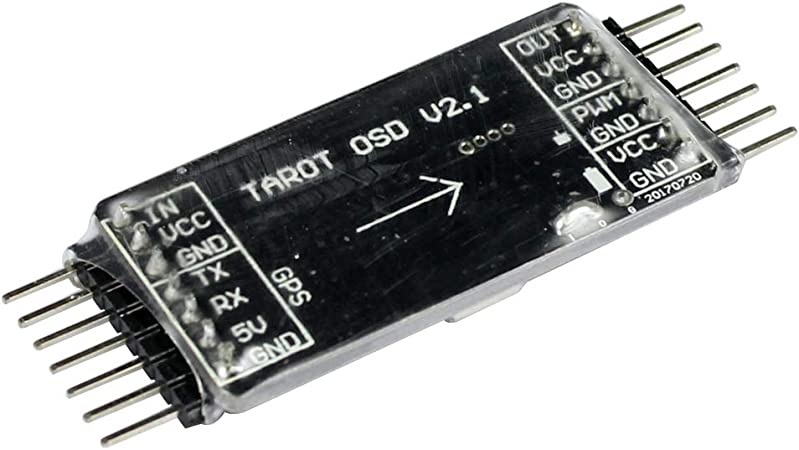Tarot TL300L2 Mini OSD Image Overlay//GPS System for FPV Drone Quadcopter Aircraft Multirotor