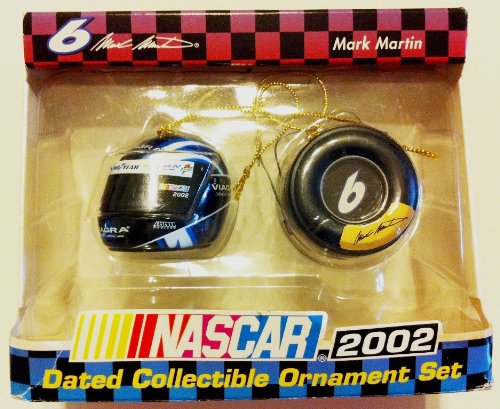 Nascar - Jeff Gordon - Dated Collectible Ornament Set