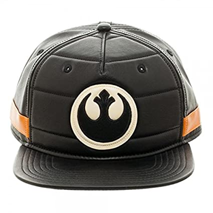 634403e3d8e Amazon.com  bioWorld Star Wars Black Squadron Snapback Baseball Cap ...