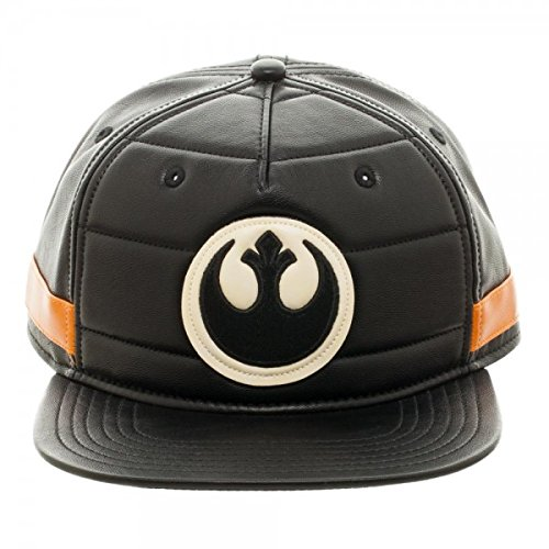 BIOWORLD Star Wars Black Squadron Snapback Baseball Cap - Star Snapback Wars
