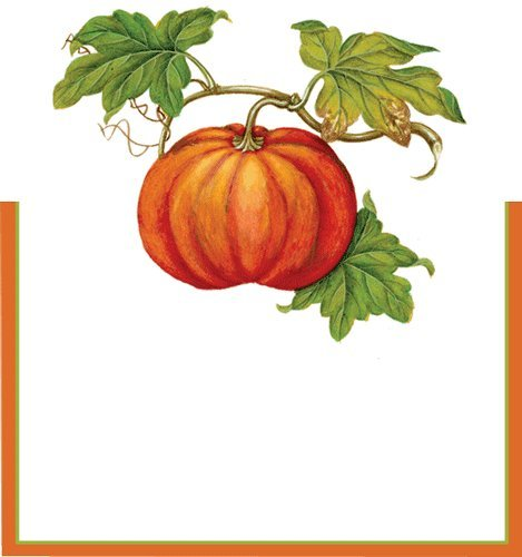 Fall Party Supplies for Fall Decorations Place Cards Pumpkins Pack 16