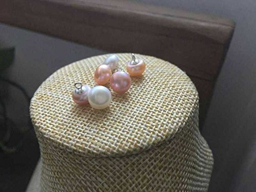 pearl bracelet bread tail pendant button Chinese clothing accessories (Chinese Pearl Bracelet)