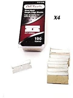 "100//Pk CRL .012/"" Single Edge Metal Heavy-Duty Razor Blades"