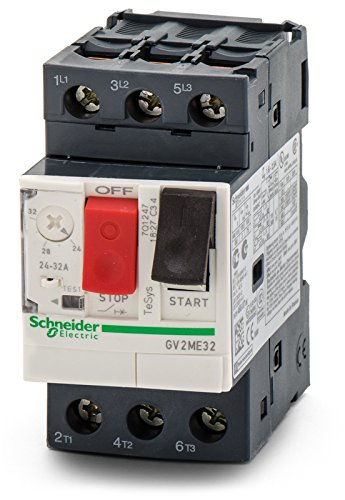 Telemecanique GV2ME32 Contactor Motor Circuit Breaker Schneider Electric by Schneider (Telemecanique Circuit Breaker)