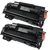 PTA Brand 2pk 120 Toner Cartridge for Canon Printer ImageClass D1120 D1150 D1170 D1180 Black 5000 pages, Office Central