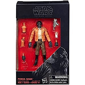 Star Wars 2017 The Black Series Ponda Baba Action Figure 3.75 Inches