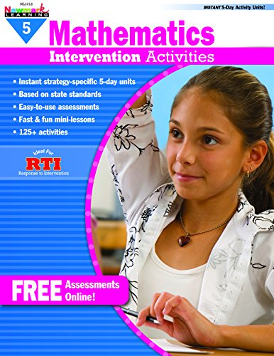 - Everyday Mathematics Intervention Activities, Grade 5