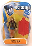 Doctor Who Wave 3 Amy Pond in Brown Jacket 3 3/4' Action Figure