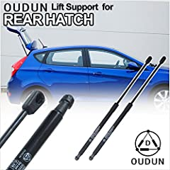 Fitment:2002-2006 Hyundai Elantra GT/GLS Hatchback Models Only Item-Offered:2pcs New Rear Left+Right Liftgate Lift SupportsPosition:Rear Liftgate Left+RightParameters:Extended Length: 18.9 inchStroke Length: 7.75 inchCompressed Length: 11.2 i...