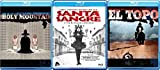 Alejandro Jodorowsky Blu-ray Set - The Holy Mountain, El Topo, Santa Sangre 3-Movie Set