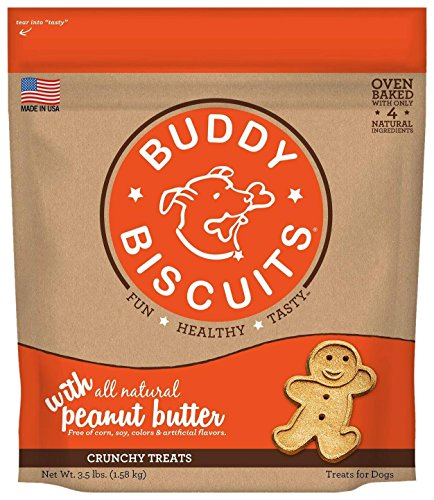 Buddy Biscuits Biscuits Original Oven Baked Treats With Peanut Butter - 3.5 Lb, 1 Piece ()