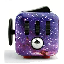 Fidget Cube Fidget Dice Fidget Toys - Relieves Stress & Anxiety, Helps to Focus - Anti Anxiety ADD, ADHD, Autism Adult Children Kids Helps Focusing Fidget Toys [3D Figit] EDC Focus Toy