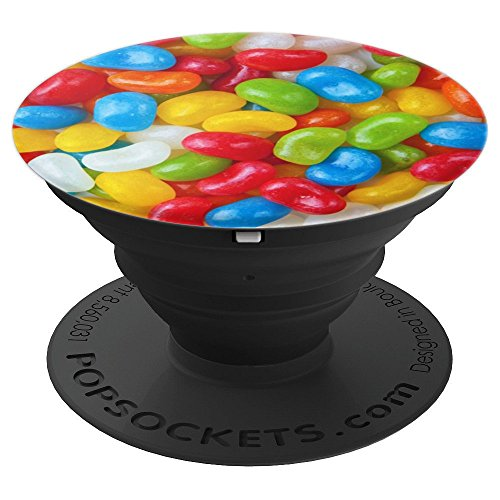 Bright Colorful Jelly Beans Sugar Sweet Treats - PopSockets Grip and Stand for Phones and Tablets