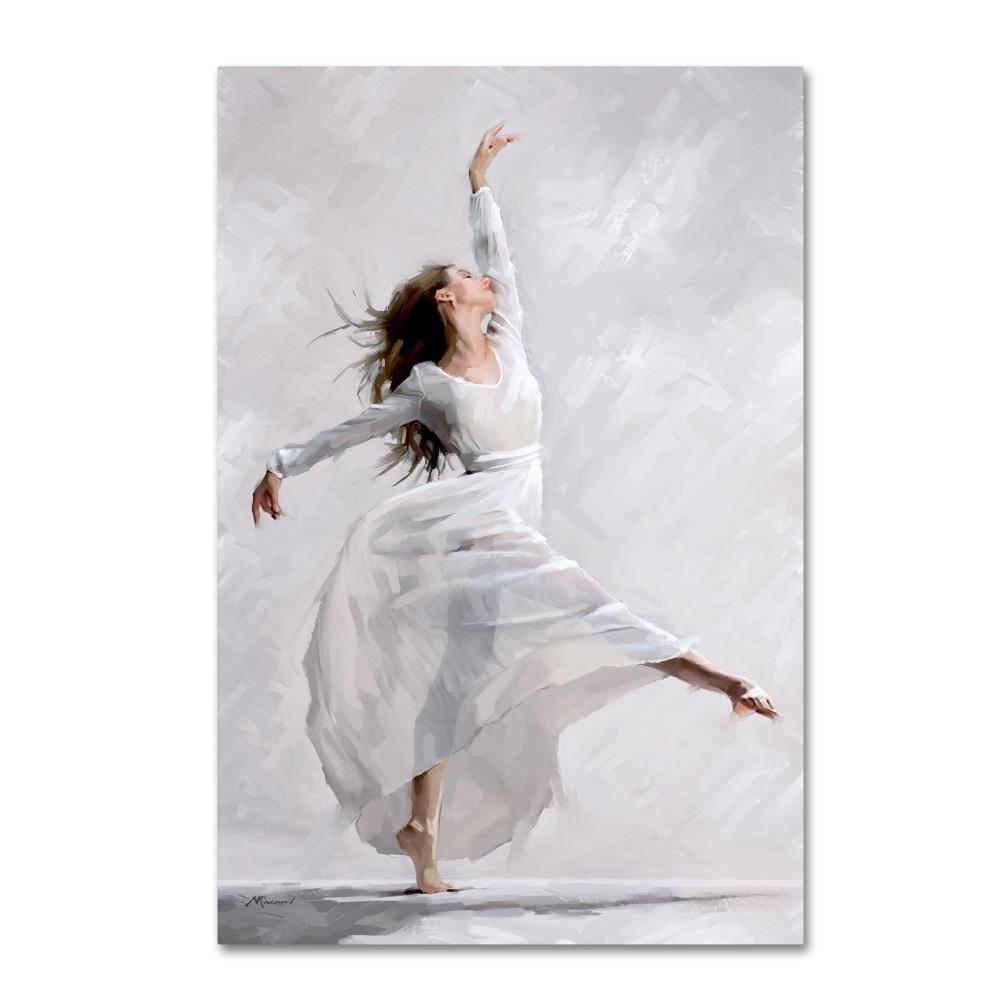 Trademark Fine Art Dance of the West Wind by The Macneil Studio, 22x32-Inch Canvas Wall Art