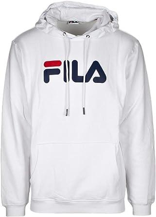 hoodie fila blanc homme