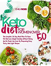 Keto Diet For Women Over 50: The Complete 28-Day Meal Plan To Burn Fat And Lose Weight Quickly Without Giving Up On Foods You Love By Preparing Easy, Tasty, And Light Recipes