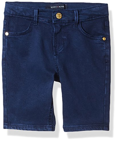 Tommy Hilfiger Big Girls' Colored Bermuda Short, Flag Blue,