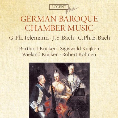 German Baroque Chamber Music - German Baroque Chamber Music by Barthold Kuijken & S. Kuijken (2009-05-07)
