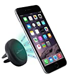 Air Vent Smartphone Car Mount w/ Magnetic 1 Step Mounting Technology - Best Cell Phone Holder for Your Car - Compatible with all Phones (Wireless Phone Accessory)