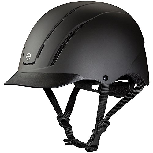 Troxel Spirit Performance Helmet, Black Duratec, Medium
