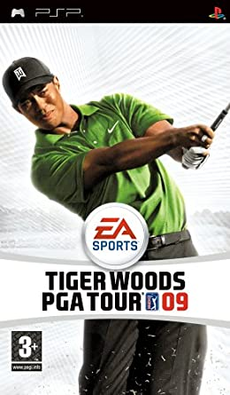 Tiger Woods: PGA Tour 09 (PSP) at amazon