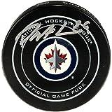 Patrik Laine Winnipeg Jets Autographed Official Game Puck - Fanatics Authentic Certified - Autographed NHL Pucks