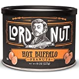Lord Nut Levington Peanuts, Hot Buffalo, 8 Ounce